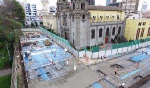 Miraflores: estacionamientos subterráneos en un 56% de avance