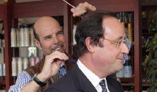 Francia: peluquero de François Hollande gana 11 mil dólares al mes