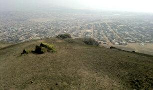 Ventanilla: declararan en emergencia cementerio clandestino Cerro Gorila