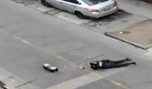 Alerta por granada en San Martín de Porres