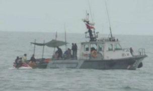 Ilo: desaparecen tres pescadores tras naufragio de embarcación