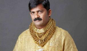 La brutal muerte del 'Hombre dorado' de la India [FOTOS]