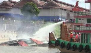 Iquitos: explosión en crucero turístico deja siete desaparecidos