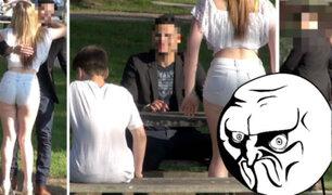 YouTube: Conocen a la mujer soñada en Tinder, pero llega a la cita ¡con su hijo! [VIDEO]