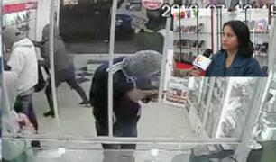 Delincuentes armados roban costosos celulares en tienda de VES