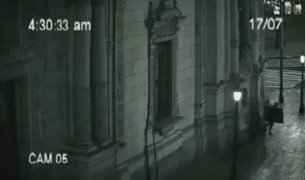Polémica por spot publicitario que muestra supuesto robo en Palacio de Gobierno