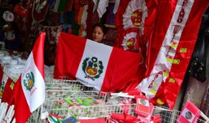 Fiestas Patrias: aplicarán multas por no colocar bandera