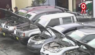 Autoridades recuperan en provincias 17 vehículos robados