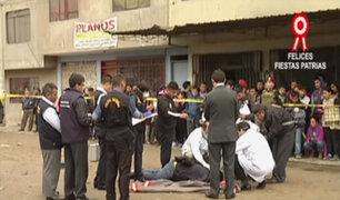 VMT: Policía investiga el móvil del crimen a hermano de alcalde