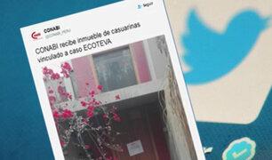 Caso Ecoteva: incautan inmueble que compró suegra de Alejandro Toledo