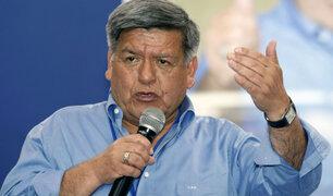 César Acuña se pronuncia luego que archivaran denuncia por plagio