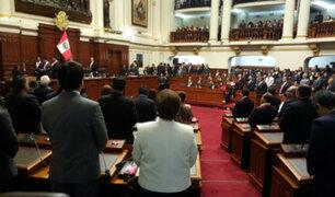 Congreso: parlamentarios juraron este viernes al cargo para el periodo 2016 -2021