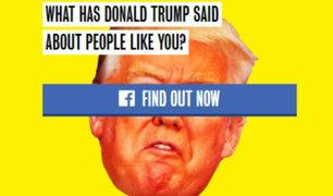 Hillary Clinton lanza 'app' en contra de Donald Trump