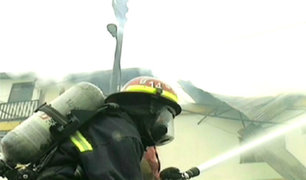 Minsa: incendio en centro de salud dejó pérdidas materiales