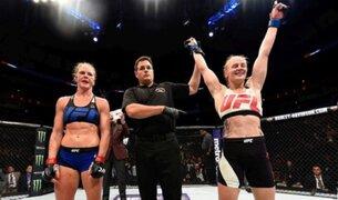 UFC: Valentina Shevchenko venció a Holly Holm por decisión unánime