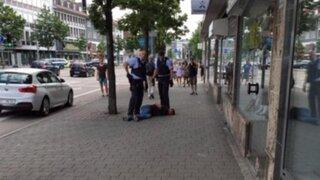 Refugiado sirio mata con un machete a una vendedora en Alemania