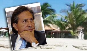 Tumbes: se incauta casa de playa de Alejandro Toledo