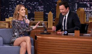 Celine Dion sorprende con imitaciones a conocidos artistas