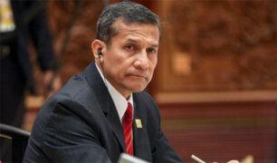 Ollanta Humala acudió a Fiscalía para declarar por caso Yalico