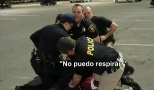 Policías matan a golpes a latino en Estados Unidos