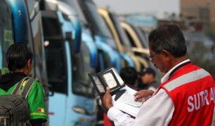 Transportistas informales agreden a 14 inspectores de Sutran