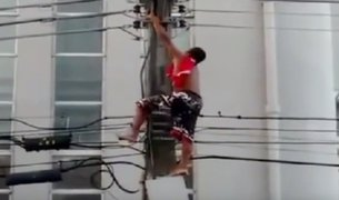 Brasil: sujeto muere electrocutado en acto de Dilma Rousseff