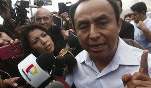 Gregorio Santos salió libre tras 25 meses de prisión preventiva