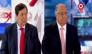 Cambio de mando: Tuesta Soldevilla y Bernales analizan gestión de Ollanta Humala