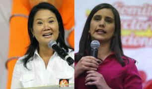 Keiko Fujimori y Verónika Mendoza envían mensaje por Fiestas Patrias