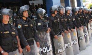 Fiestas Patrias: unos 20 mil policías resguardan calles de Lima