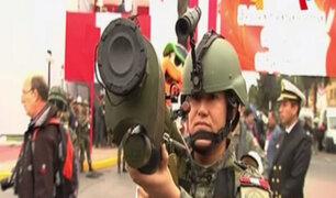 Armamento antiaéreo será una de las principales atracciones del Desfile Militar