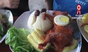 Limeños celebraron las Fiestas Patrias degustando platos típicos
