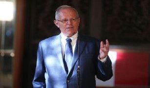 Presidente Kuczynski espera que diálogo pueda solucionar conflicto en Las Bambas