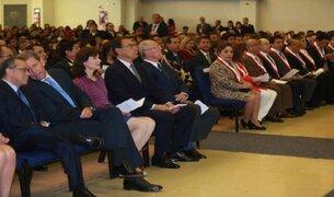 PPK participó en ceremonia de Acción de Gracias