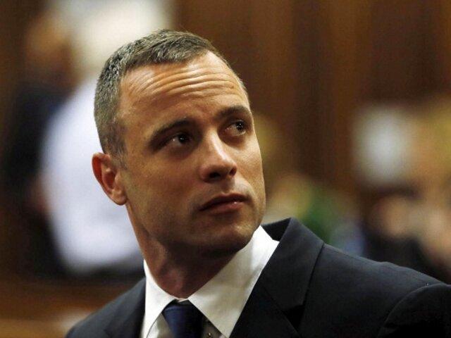 Pistorius fue condenado a seis años de cárcel por el asesinato de su novia