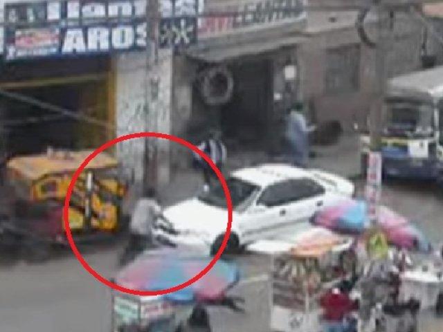 SMP: cúster mata a vendedor de llantas