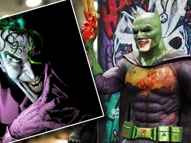 """El Guasón podría usar traje de Batman en nueva película """"Escuadrón Suicida""""."""