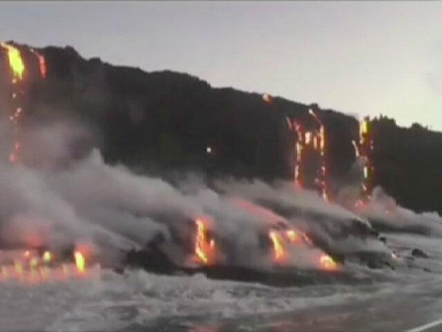 EEUU: volcán Kilauea forma nube tóxica en Hawaii