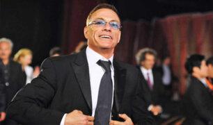 Van Damme perdió los papeles durante entrevista