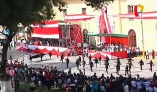 Huánuco: así empezaron las celebraciones por su 477 aniversario