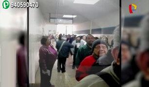 Asegurados denuncian caos para sacar citas en hospital Edgardo Rebagliati
