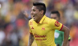 Liga mexicana: Raúl Ruidíaz sería el segundo extranjero mejor pagado