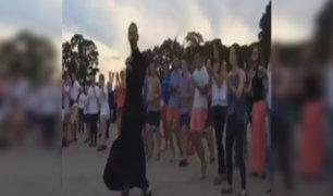 VIDEO: baile de sacerdote causa furor en las redes sociales
