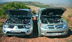 Vehículos Toyota y Mitsubishi deberán pasar revisión técnica