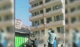 Edificio de cinco pisos se derrumba en Kenia