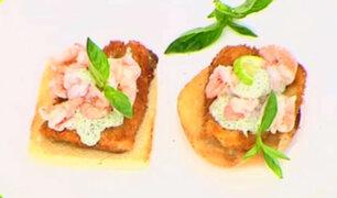 Angélica Sasaki nos enseña a preparar un delicioso Open Sándwich