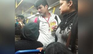Cercado de Lima: Seleccionado de esgrima vende caramelos en buses