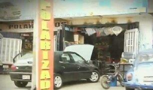 La Victoria: avenidas son invadidas y convertidas en talleres de mecánica