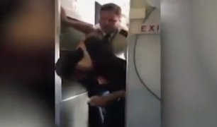 EEUU: piloto se enfrentó a pasajero en estado de ebriedad