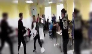 Alemania: impactante pelea entre refugiados